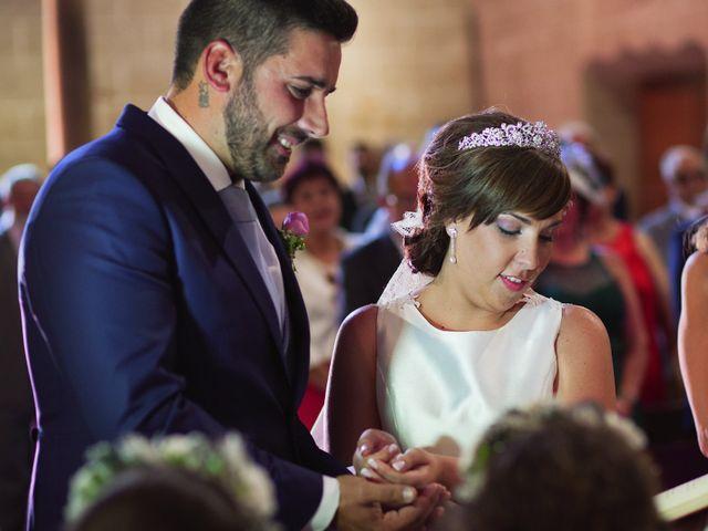 La boda de Vanesa y José María en Valdastillas, Cáceres 24