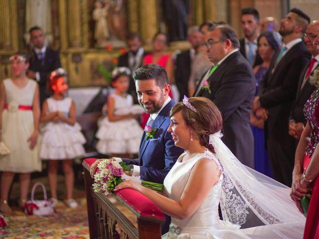 La boda de Vanesa y José María en Valdastillas, Cáceres 29