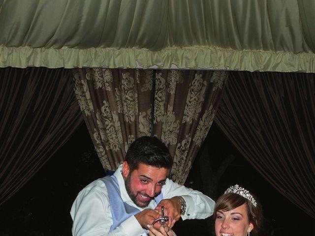 La boda de Vanesa y José María en Valdastillas, Cáceres 58