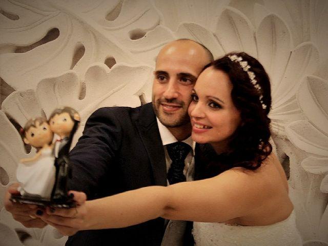 La boda de Estefanía Ávila y Miguel Ramos