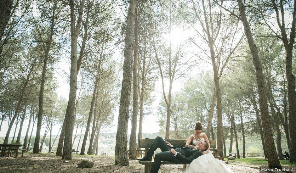 La boda de Ángel y Laura en Valdilecha, Madrid