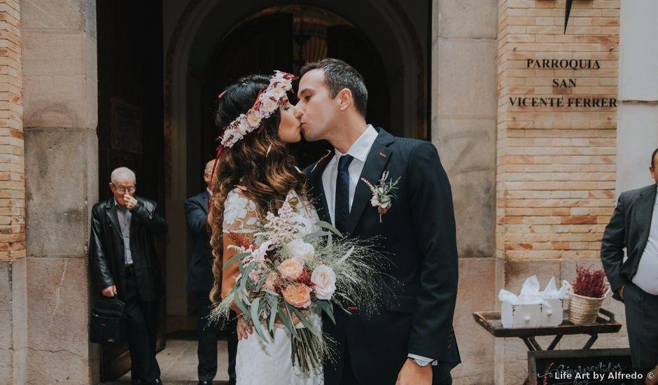 La boda de Luis y Sabrina en Castelló/castellón De La Plana, Castellón