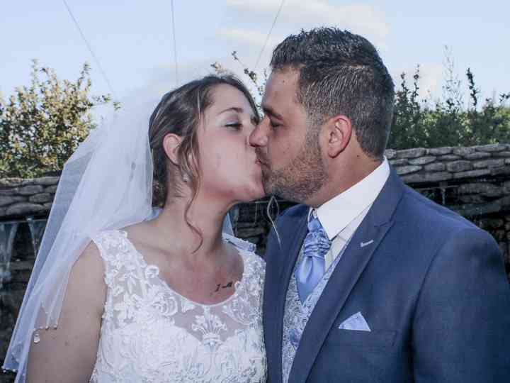 La boda de Ariana y Raul