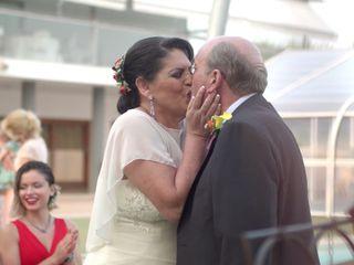 La boda de Cristina y Tomás