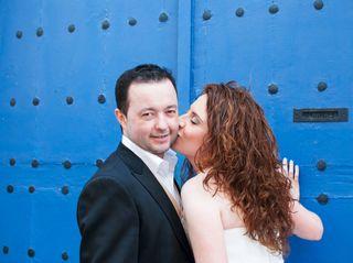 La boda de Esther y Miguelín