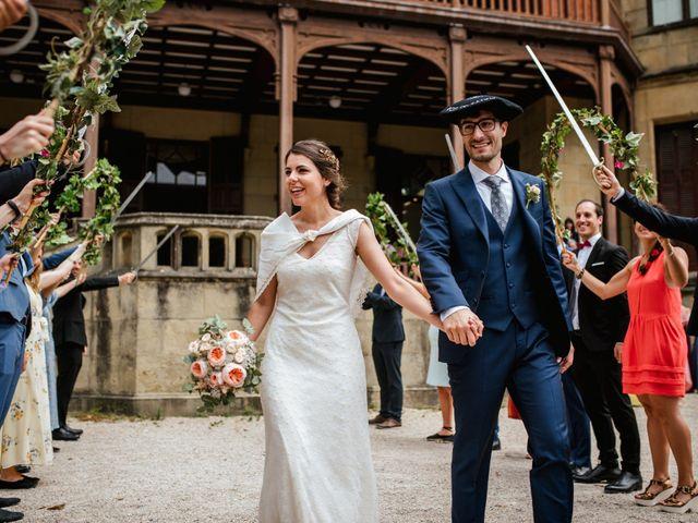 La boda de Igor y Maite en Donostia-San Sebastián, Guipúzcoa 43