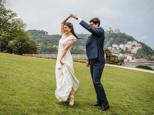 La boda de Igor y Maite en Donostia-San Sebastián, Guipúzcoa 57