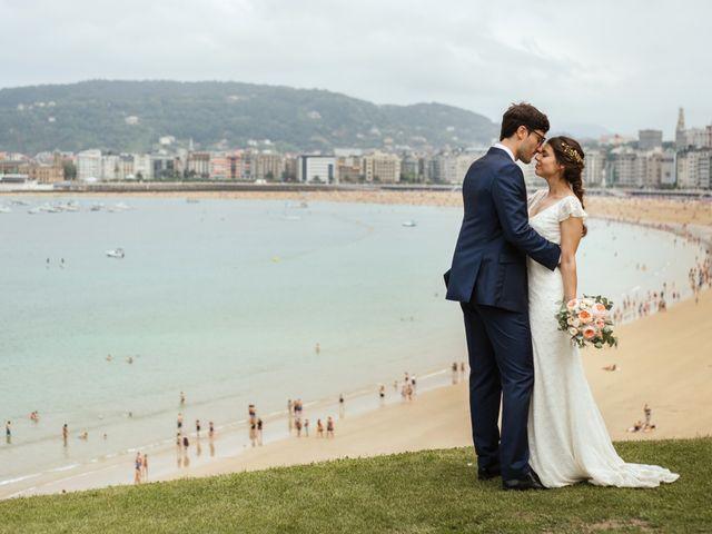 La boda de Igor y Maite en Donostia-San Sebastián, Guipúzcoa 64