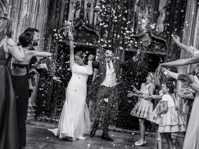La boda de Adrián y Carina en Peralada, Girona 1