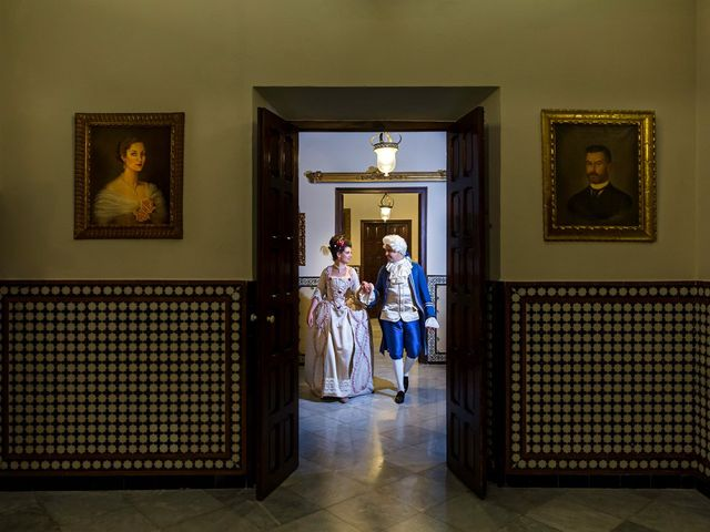 La boda de Almudena y Roman en Sevilla, Sevilla 37