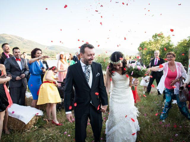 La boda de Juanjo y Fany en Pinilla Del Valle, Madrid 25