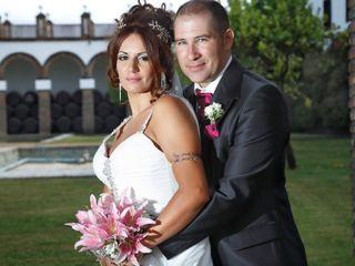 La boda de Aurora y Israel