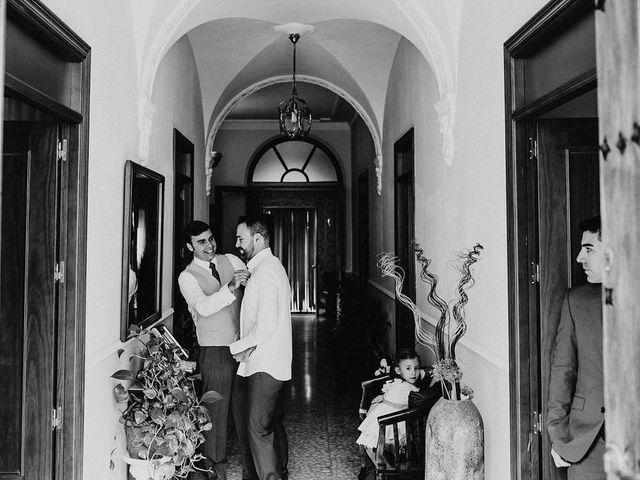 La boda de Felix y Elena en Medellin, Badajoz 9