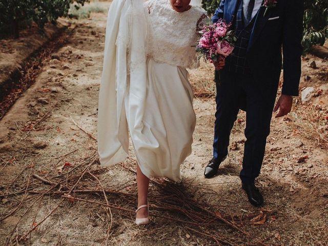 La boda de Felix y Elena en Medellin, Badajoz 40