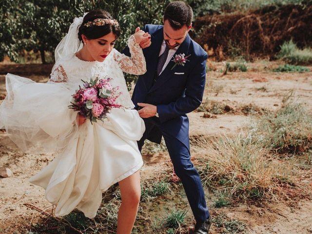 La boda de Felix y Elena en Medellin, Badajoz 53