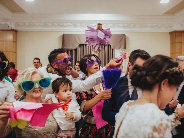 La boda de Felix y Elena en Medellin, Badajoz 74