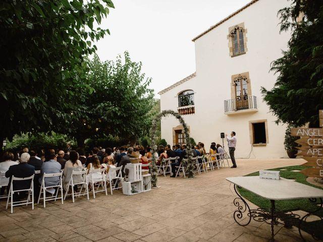 La boda de Ángel y Lara en Alella, Barcelona 24