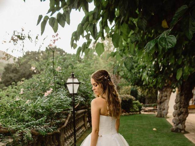 La boda de Ángel y Lara en Alella, Barcelona 35