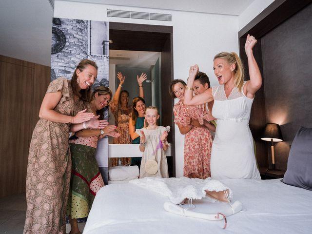 La boda de Valerie y Guillaume en Arenys De Mar, Barcelona 14