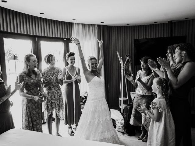 La boda de Valerie y Guillaume en Arenys De Mar, Barcelona 16