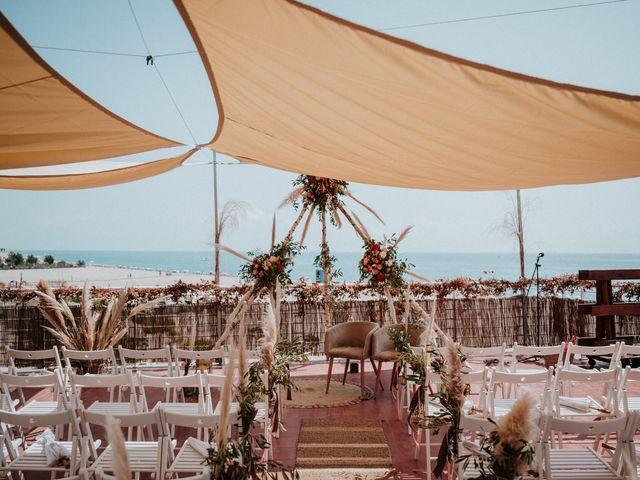 La boda de Valerie y Guillaume en Arenys De Mar, Barcelona 20