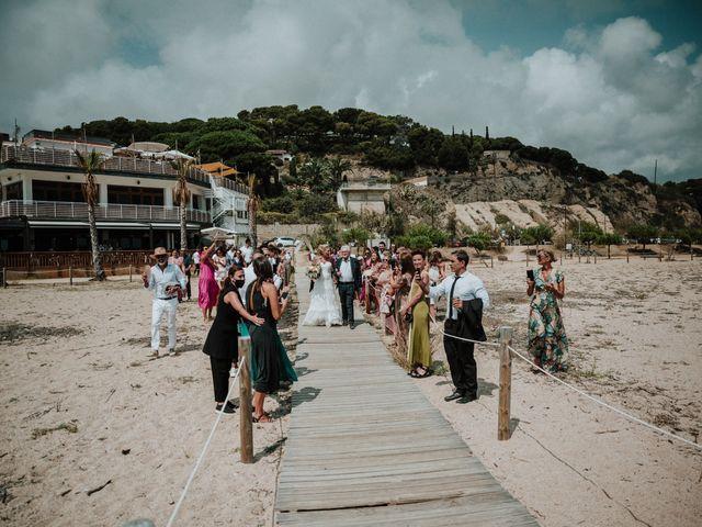 La boda de Valerie y Guillaume en Arenys De Mar, Barcelona 34