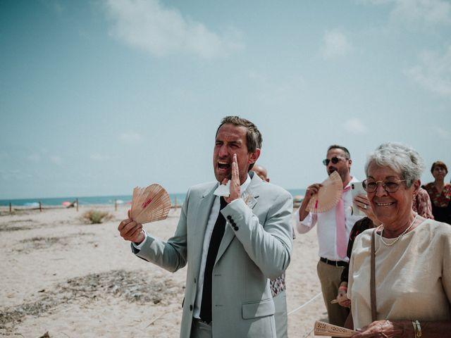 La boda de Valerie y Guillaume en Arenys De Mar, Barcelona 35