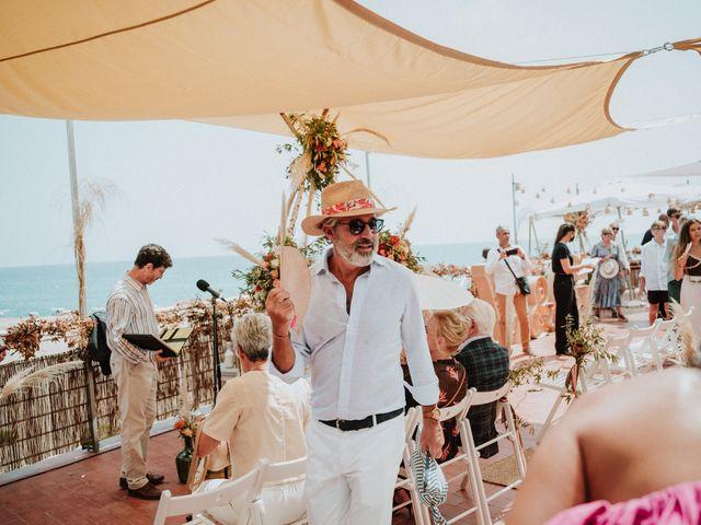 La boda de Valerie y Guillaume en Arenys De Mar, Barcelona 42