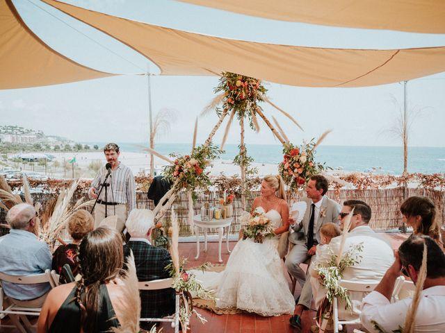 La boda de Valerie y Guillaume en Arenys De Mar, Barcelona 48