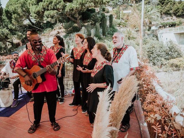 La boda de Valerie y Guillaume en Arenys De Mar, Barcelona 50