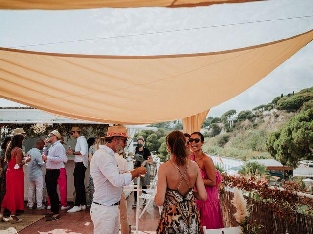 La boda de Valerie y Guillaume en Arenys De Mar, Barcelona 65