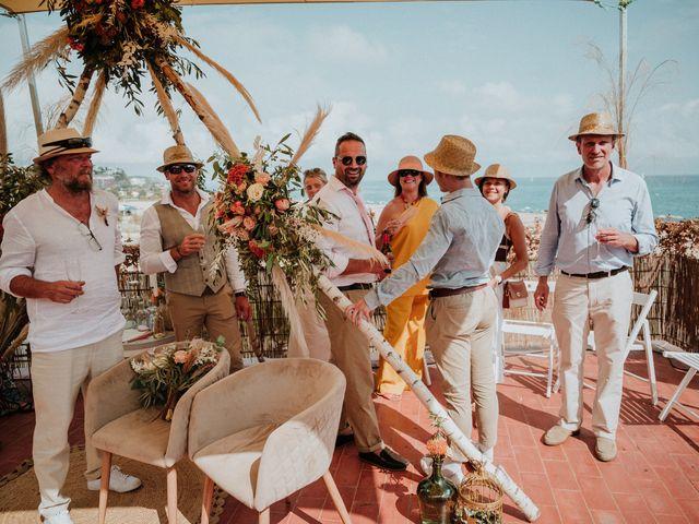 La boda de Valerie y Guillaume en Arenys De Mar, Barcelona 66