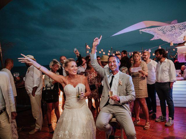 La boda de Valerie y Guillaume en Arenys De Mar, Barcelona 105