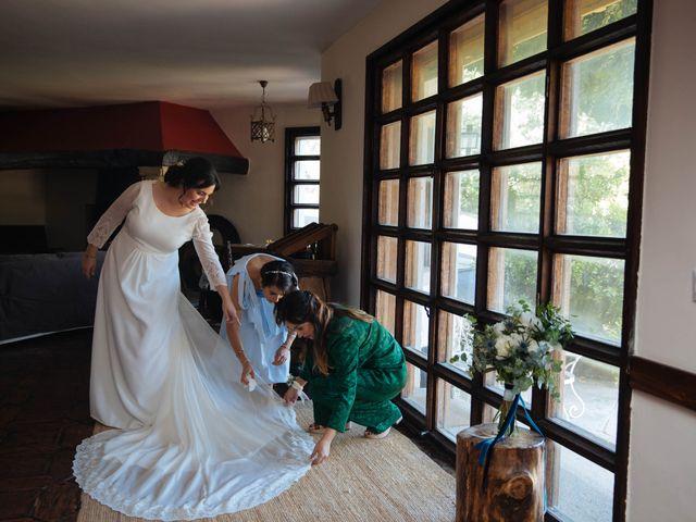 La boda de Ángel y Ana en Rascafria, Madrid 23