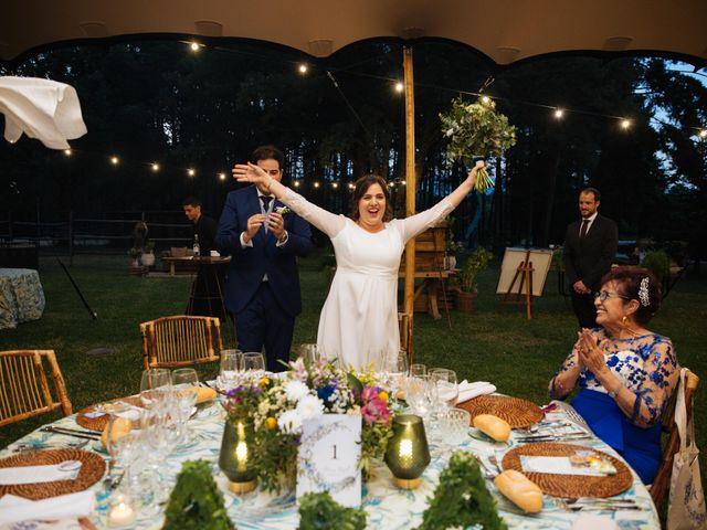 La boda de Ángel y Ana en Rascafria, Madrid 69