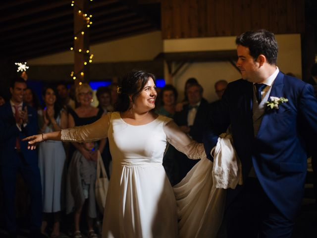 La boda de Ángel y Ana en Rascafria, Madrid 75
