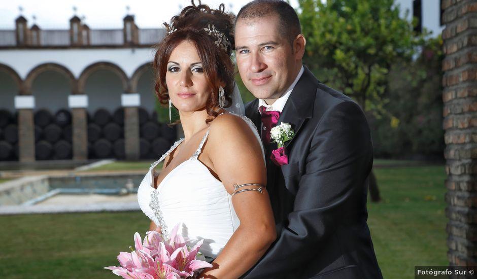 La boda de Israel y Aurora en Viator, Almería