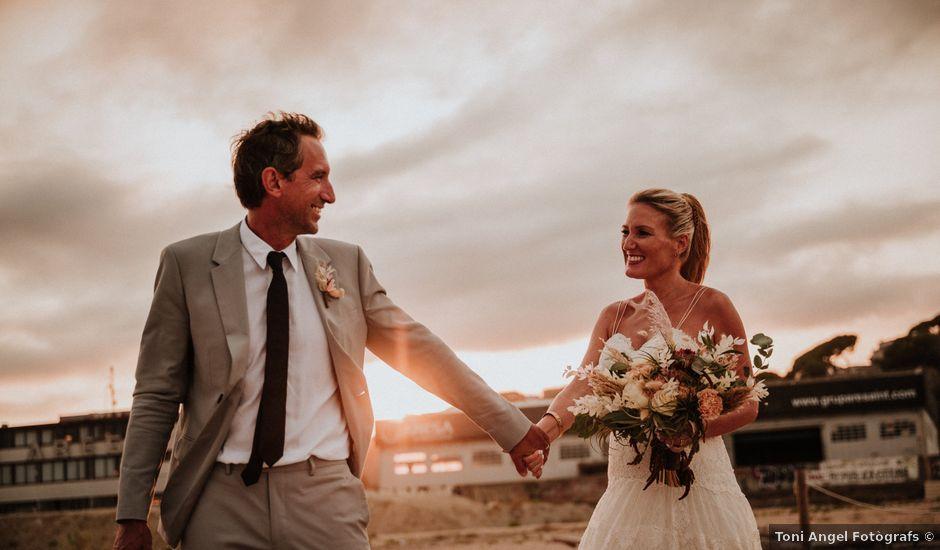 La boda de Valerie y Guillaume en Arenys De Mar, Barcelona
