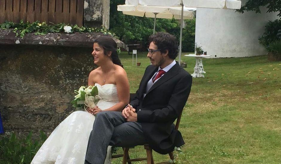 La boda de Carlos y Tania en Teo, A Coruña