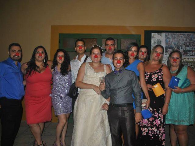 La boda de Penelope y Deriman en Valsequillo (Telde), Las Palmas 2