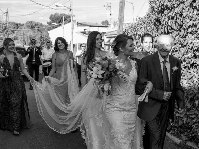 La boda de Ángel  y Beatriz en Los Santos De La Humosa, Madrid 12