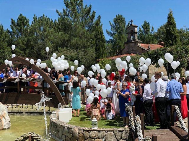 La boda de Manuel y Nicole en Ourense, Orense 22