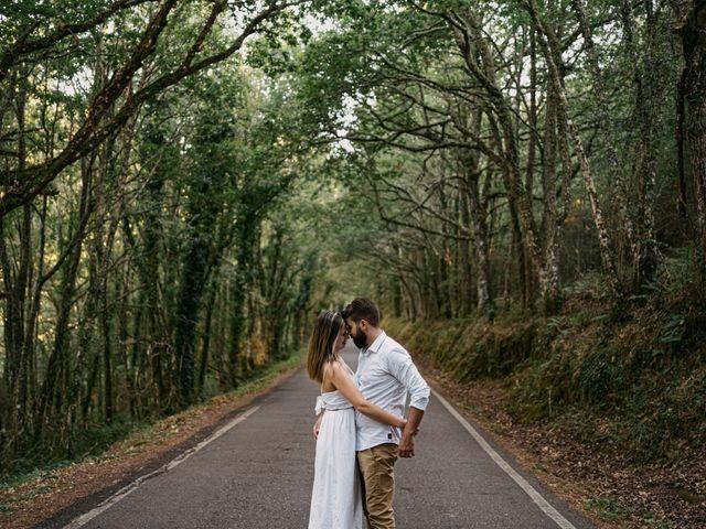La boda de Nadia y Angel en Soutiño (Orense), Orense 6