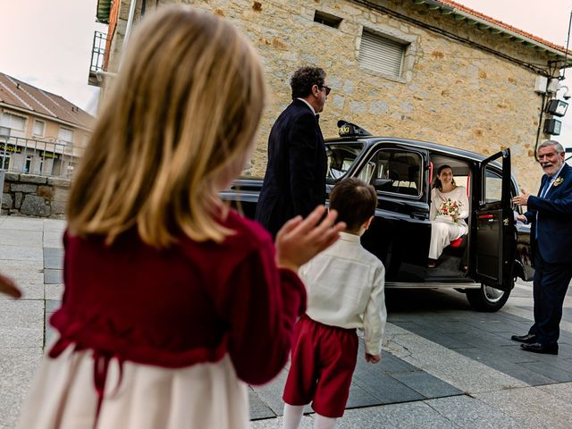 La boda de Elisa y Jordi en Collado Villalba, Madrid 22