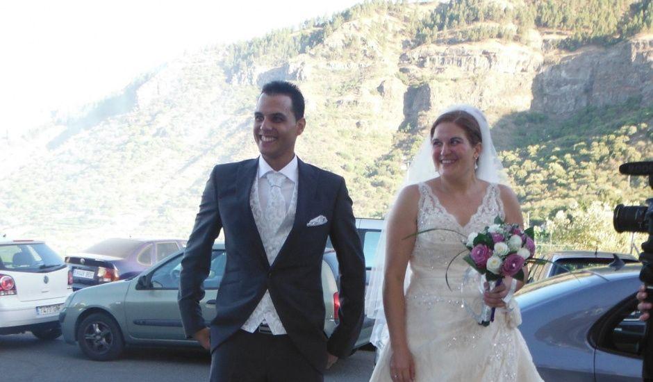 La boda de Penelope y Deriman en Valsequillo (Telde), Las Palmas