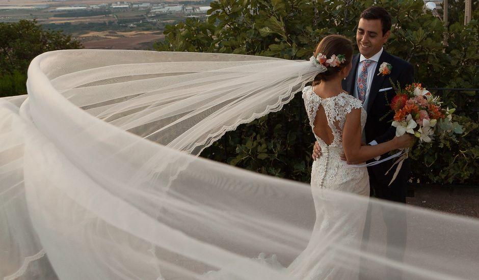 La boda de Ángel  y Beatriz en Los Santos De La Humosa, Madrid