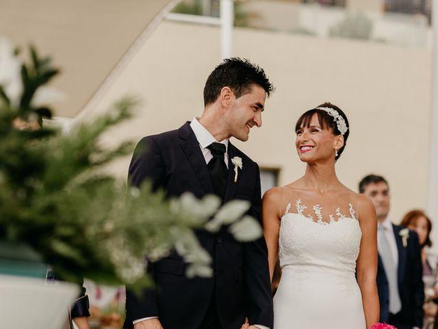 La boda de Rosario y Salva