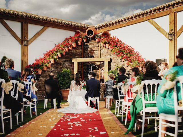 La boda de Sergio y Inés en Porzuna, Ciudad Real 57