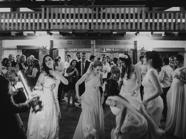 La boda de Sergio y Inés en Porzuna, Ciudad Real 109
