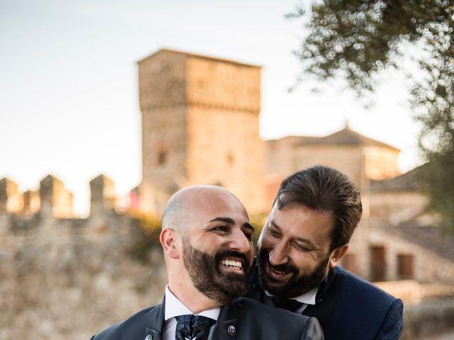 La boda de Víctor y Iván en Trujillo, Cáceres 23